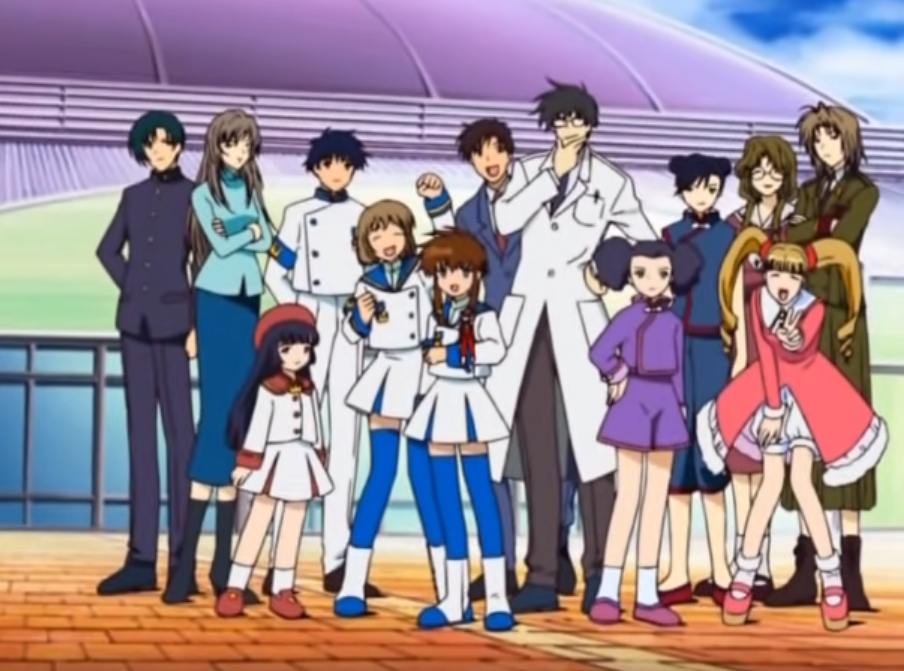 Full cast of Angelic Layer anime
