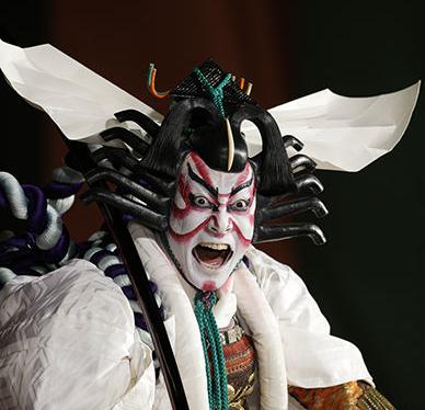 kabuki actor shouting