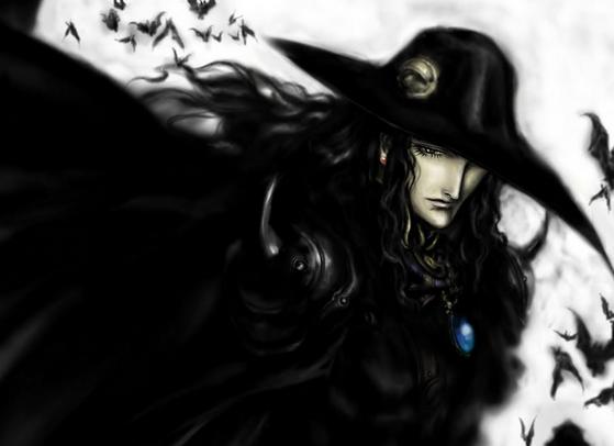 vampire hunter d book illustration