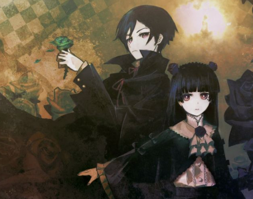 2 goth anime characters