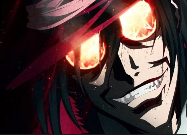 alucard smiling