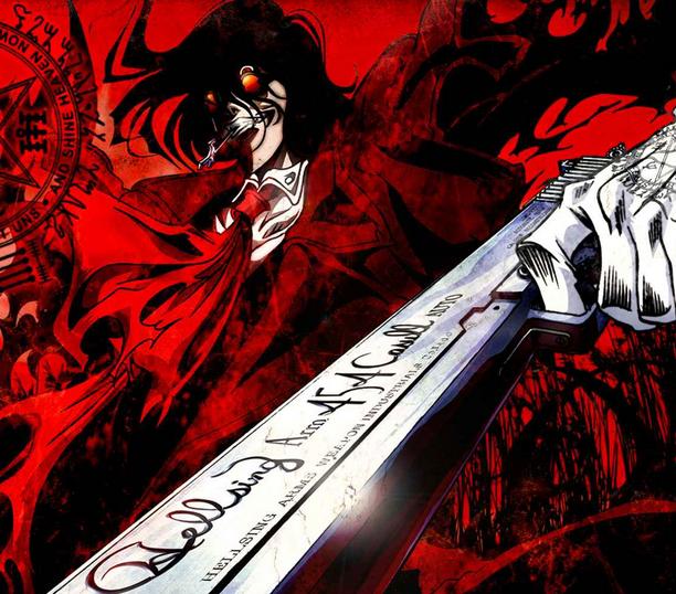 Alucard with gun